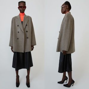 Acne Studios | NWT Odine Double Breasted Wool Coat
